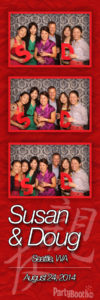 Celebrating Susan & Doug at Ray's Boathouse - Tonight We PartyBooth! Seattle Photo Booth ©2014 PartyBoothNW.com