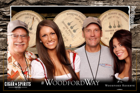 The 4th Annual Washington Cigar and Spirits Festival, presented by Lit Lounge at the Snoqualmie Casino, with Woodford Reserve - Tonight We PartyBooth! Snoqualmie Photo Booth ©2014 PartyBoothNW.com