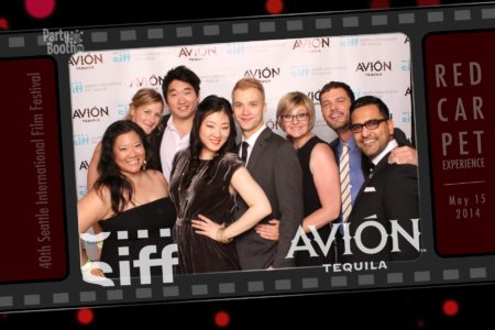 Walk down the Red Carpet with Avion Tequila for the Seattle International Film Festival Opening Night Gala - Tonight We PartyBooth! Seattle Photo Booth © 2014 PartyBoothNW.com