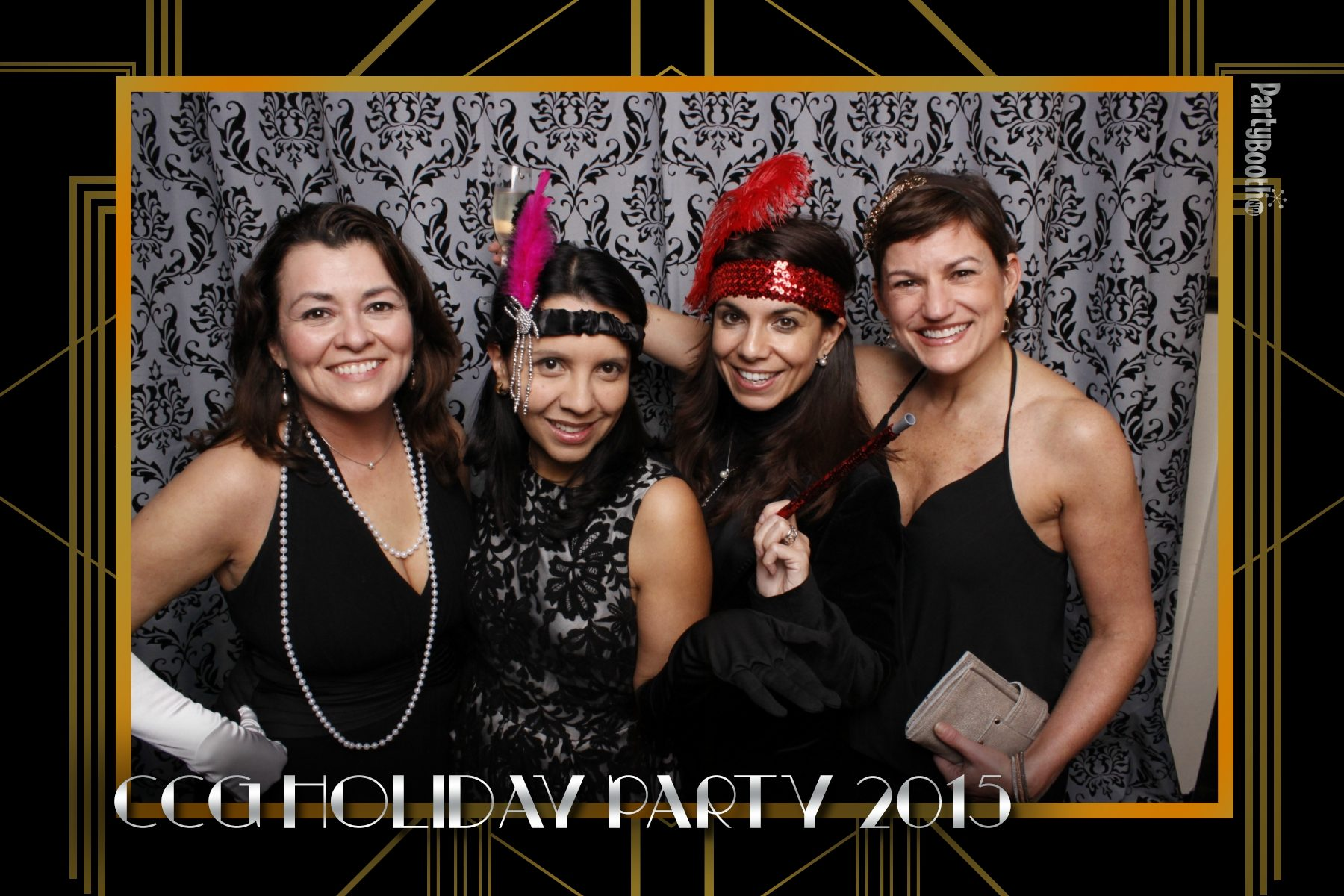 Dressed to the nines in the 1920's best, CCG along with their friends and family parties aboard the MV Skansonia - a retired Washington State Ferry docked at the north end of Seattle's Lake Union. The costumes, the live music, the artists, the food... It was a night to remember! Seattle Photo Booth © 2015 Ari Shapiro - PartyBoothNW.com