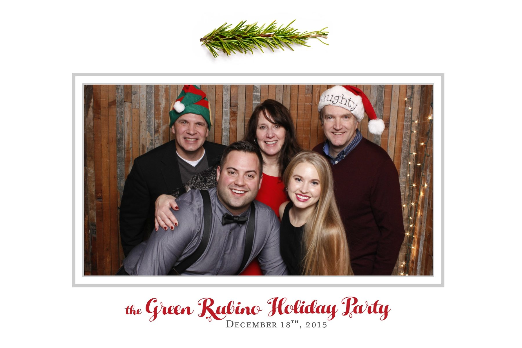 Family, friends and special guests gathered at Sole Repair in Seattle's Capitol Hill neighborhood for their annual holiday party; celebrating a great 2015 and looking forward to an exciting 2016! Seattle Photo Booth © 2015 Ari Shapiro - PartyBoothNW.com