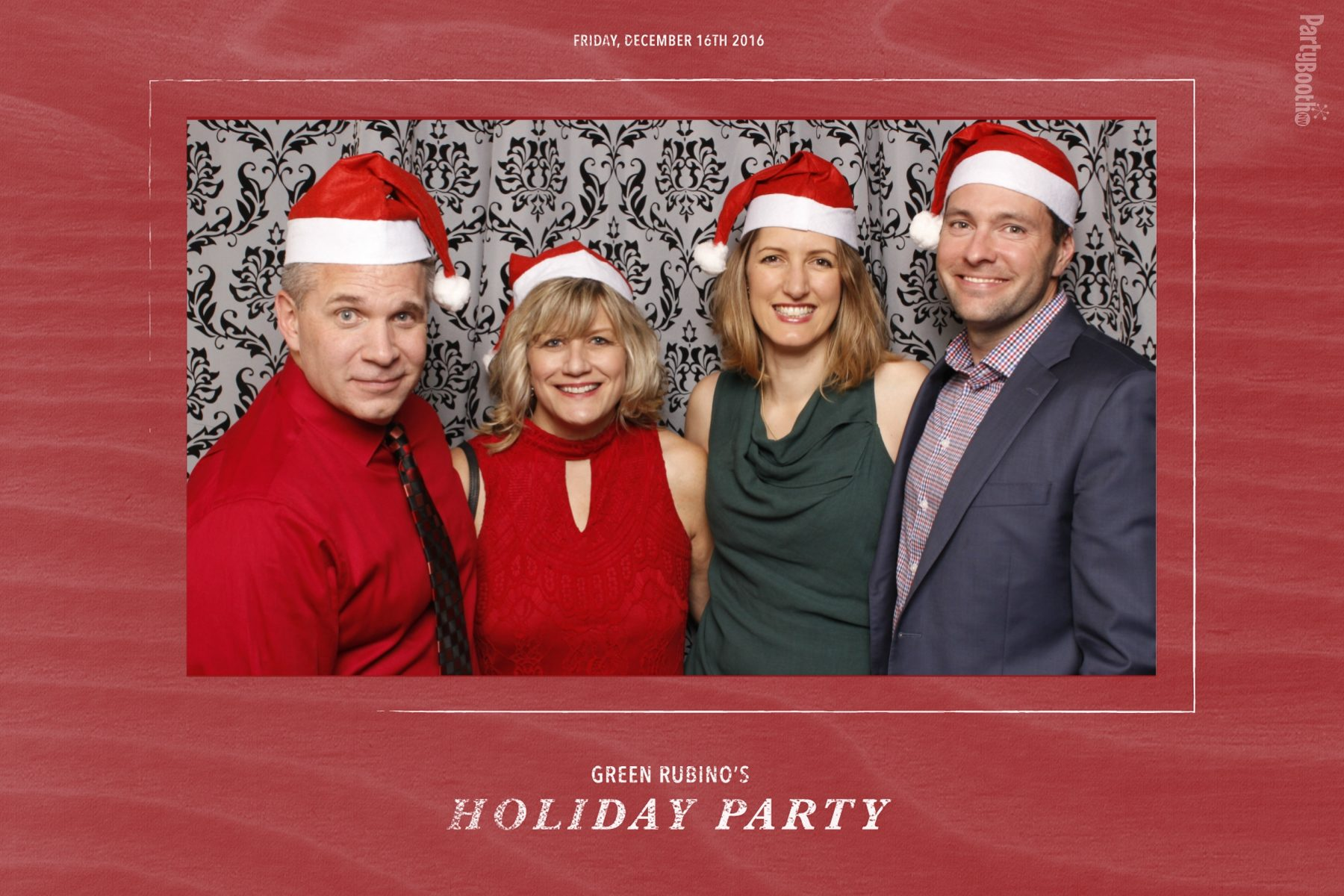 Seattle PR firm GreenRubino celebrated the holidays at the Olympic Rooftop Pavilion, atop the Hotel Ballard and Stoneburner Restaurant in Seattle's Ballard neighborhood, bringing friends, family, and VIP clients along for the fun. Tonight We PartyBooth! Seattle Photo Booth ©2016 PartyBoothNW.com!