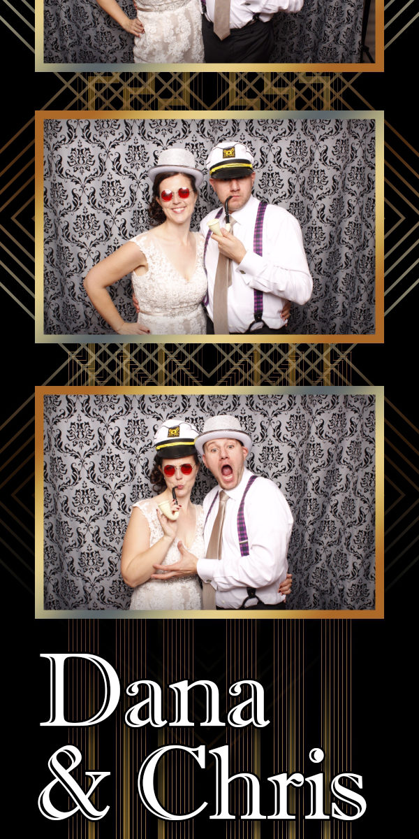 Congratulations Chris & Dana! Seattle Photo Booth ©2015 PartyBoothNW.com - Tonight We PartyBooth!