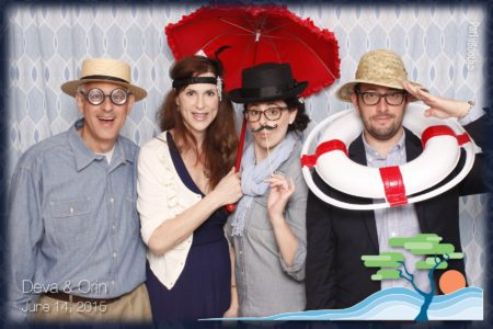 Friends from all corners of the globe joined Orin and Deva for their wedding in Seabrook on the Washington coast - and rocked the Photo Booth - Tonight We PartyBooth! Seabrook Photo Booth ©2015 PartyBoothNW.com