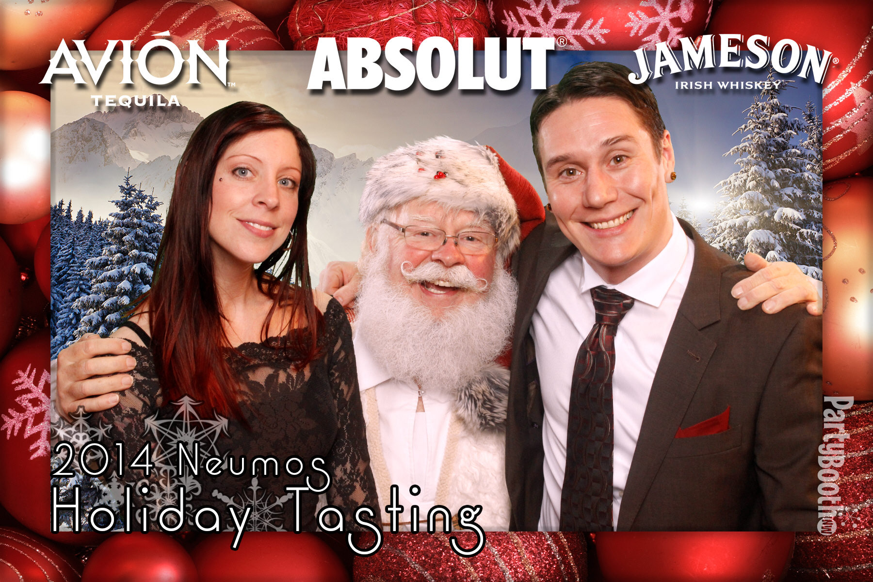 Seattle Photo Booth: Jameson Holiday Party with Santa at Seattle's Neumo's - Tonight We PartyBooth!